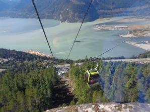 Gondole prăbușite peSea to Sky din Squamish