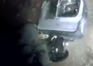A găsit o cameră GoPro în apă. A înghețat când a văzut imaginile: a privit moartea în ochi