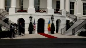 Klaus Iohannis, față în față cu Donald Trump, la Casa Albă. Ce discută în Biroul Oval