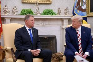 Klaus Iohannis, la Casa Albă. Ce spune Donald Trump despre vizele pentru români