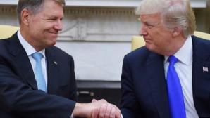 Klaus Iohannis, în vizită la Trump