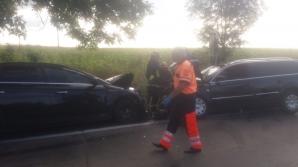 Accident violent în Botoșani