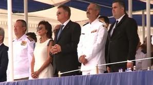 Incident de Ziua Marinei: unui militar american is-a făcut rău. A leșinat lângă Iohannis