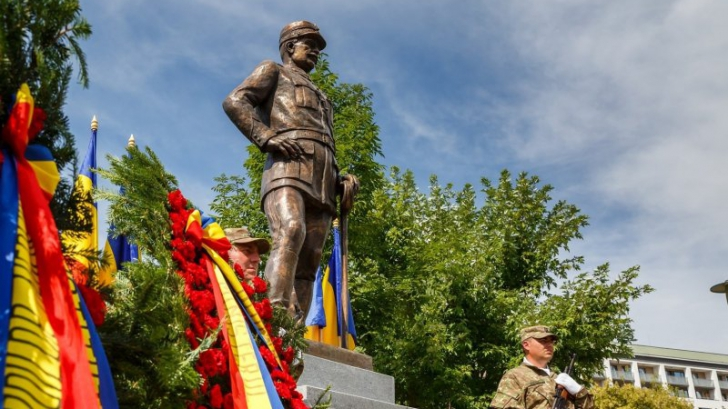 Statuia Generalului Gheorghe Mărdărescu a fost dezvelită la Cluj-Napoca