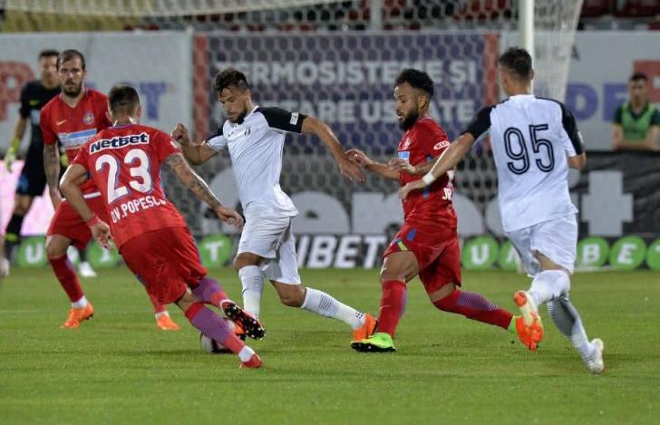 FCSB - Astra: Alibec egaleaza, 1-1, din pasa lui Budescu ...  |Astra- Fcsb