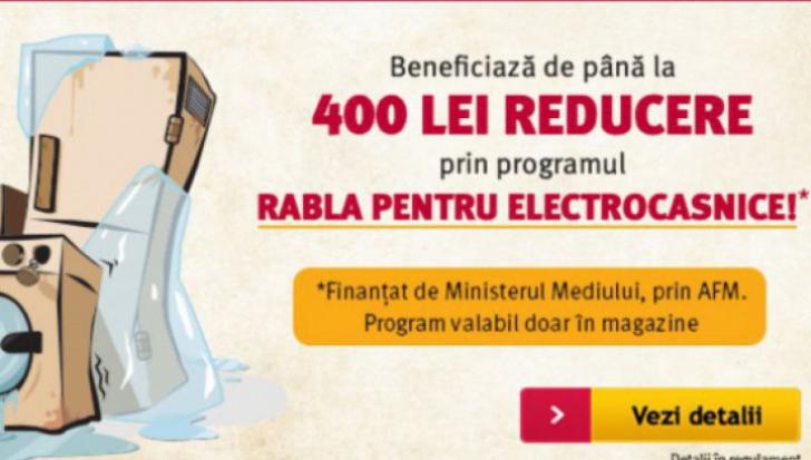 Altex - Programul Rabla pentru electrocasnice