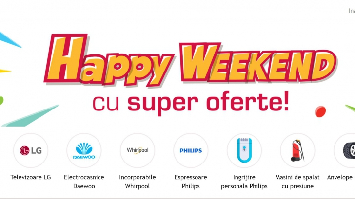 Altex - Promotie noua - Happy weekend