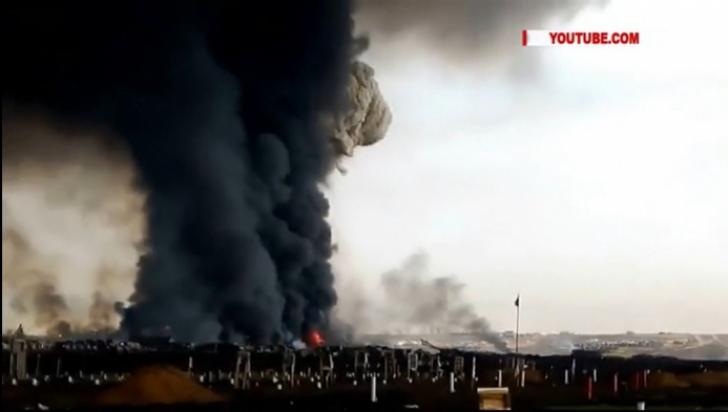 Rusia, la un pas de o catastrofă. Explozie la o rachetă nucleară