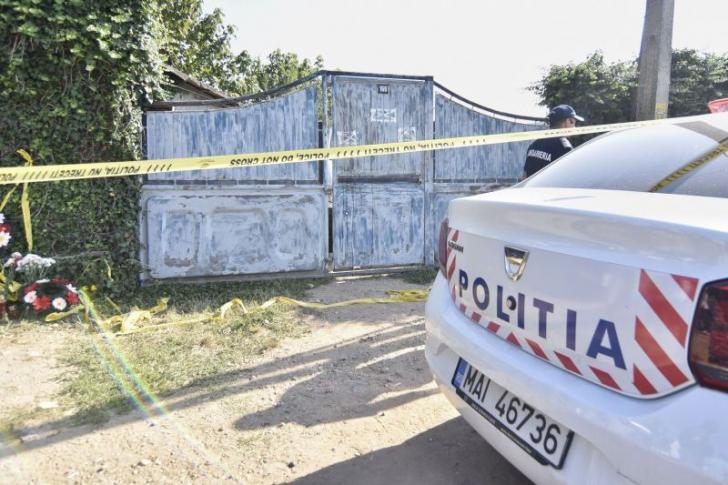 """""""Casa Groazei"""", în imagini exclusive obţinute de Realitatea TV. Dincă s-a întors la locul crimei"""
