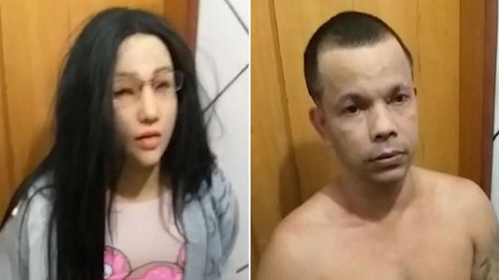 Un interlop a incercat sa evadeze imbracat ca fiica sa, lasata in inchisoare -VIDEO antologic