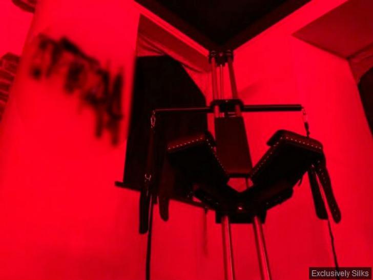 Conacul plăcerilor, de vânzare. Cum arată palatul cu 50 de leagăne pentru sex. Șoc în Camera roșie