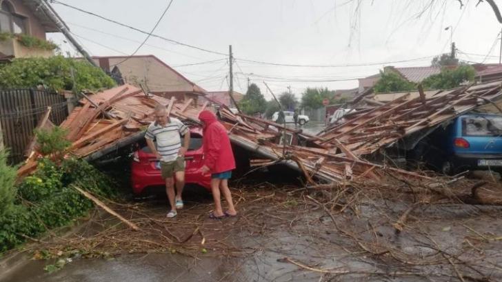 Furtună în Constanța