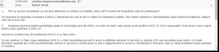 """Dana Gîrbovan, pentru realitatea.net: """"Susținerea pentru OUG 13, un fake news"""". Primul interviu al propunerii PSD pentru funcţia de ministru al Justiţiei"""