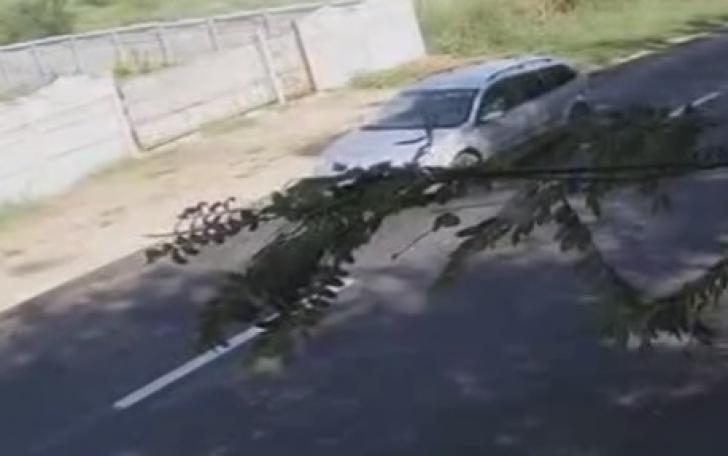 Gheorghe Dincă, în imagini noi, ce ar fi imediat de după răpirea Alexandei. Era cu fata în maşină?