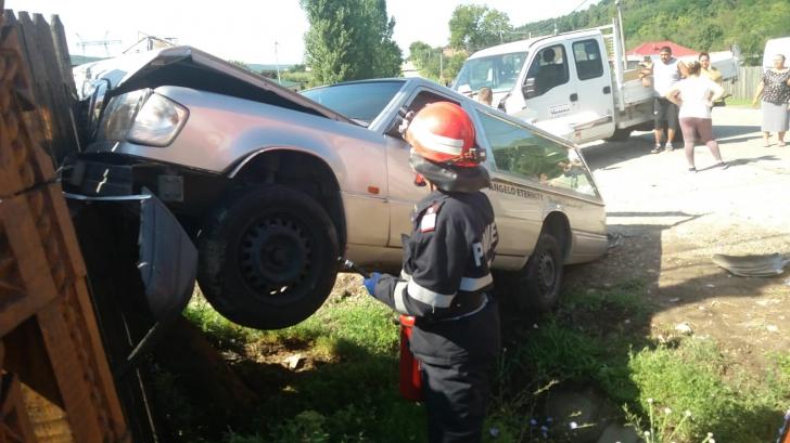Accident cu dricul în Argeș