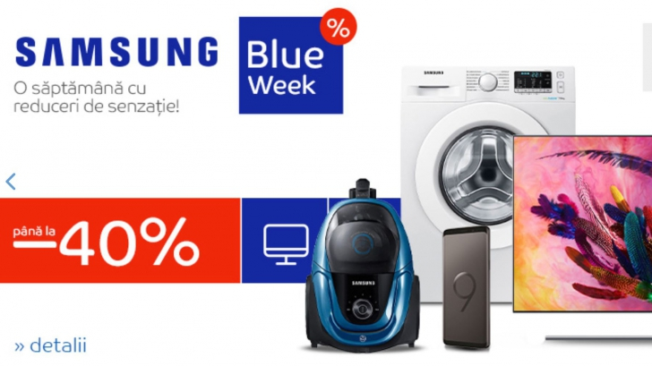 eMAG Blue Week – 4 categorii de produse extrem de bune care au reduceri de pana la 40%