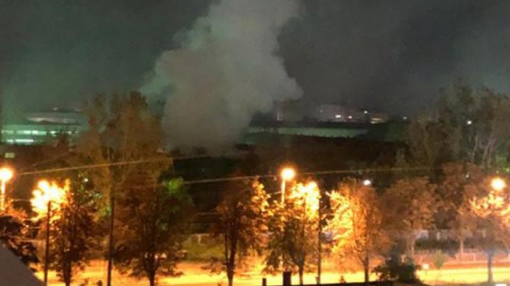 Explozie în București