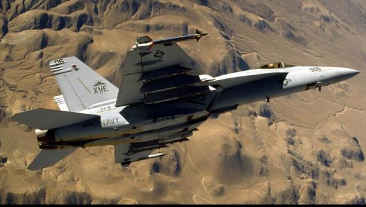 Avion de luptă prăbușit
