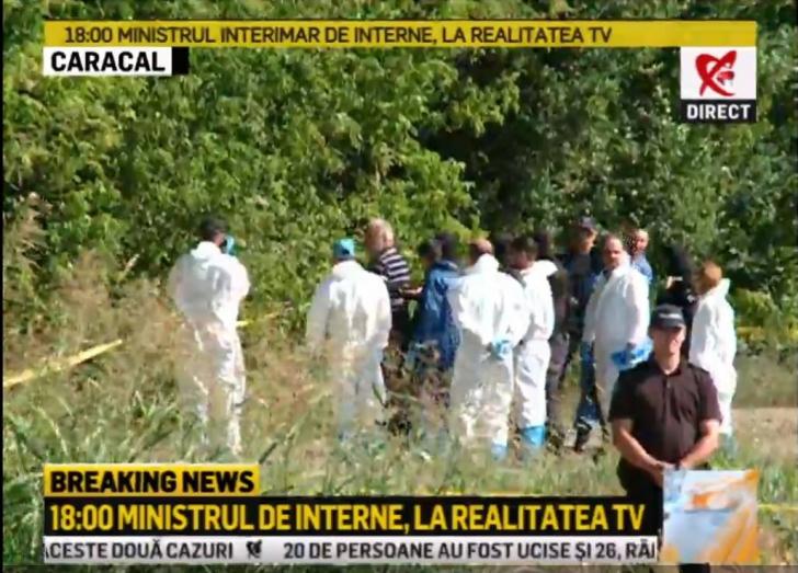 Gheorghe Dincă, la locul unde a aruncat trupul Luizei. Ce le-a spus anchetatorilor?