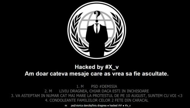 Site-ul INML a fost spart de hackeri. Mesaje pe tema cazului Caracal