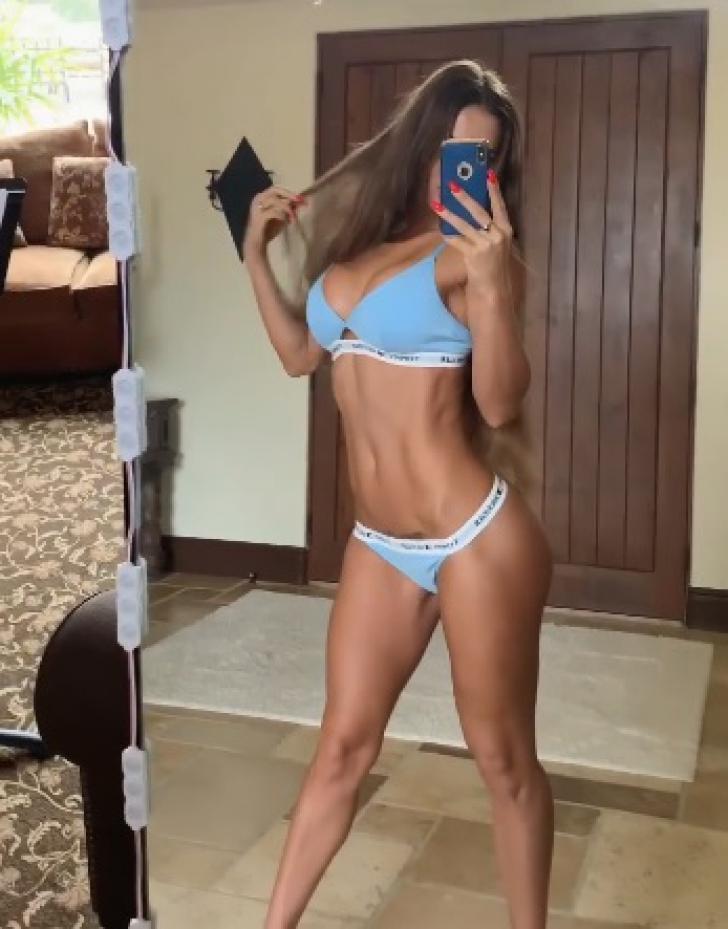 Zeița fitness-ului și-a șocat fanii. Imaginea senzuală care a încins internetul. Cum s-a pozat