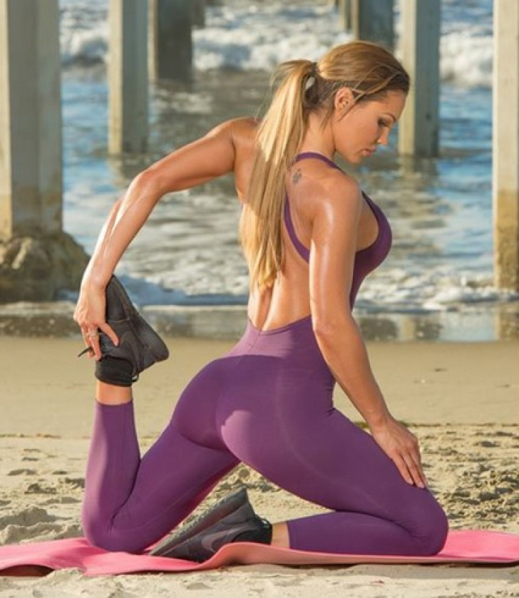 Zeița fitness-ului și-a șocat fanii. Imaginea senzuală care a încins internetul. Cum s-a pozat / Foto: Instagram