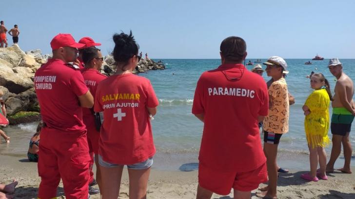 Dramă pe litoral. Un bărbat a salvat doi copii, apoi a dispărut în mare