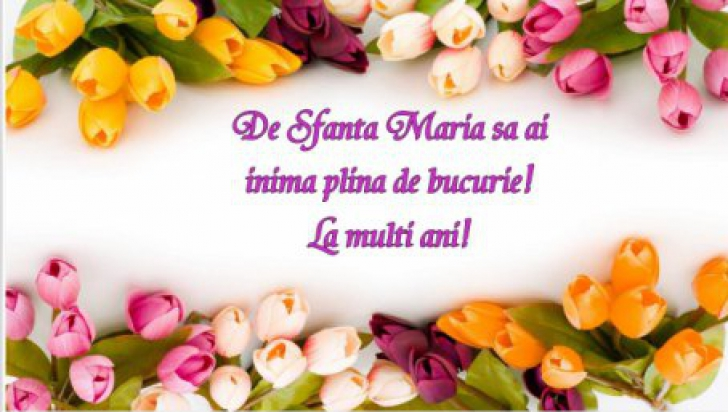 Sfanta Maria 2019