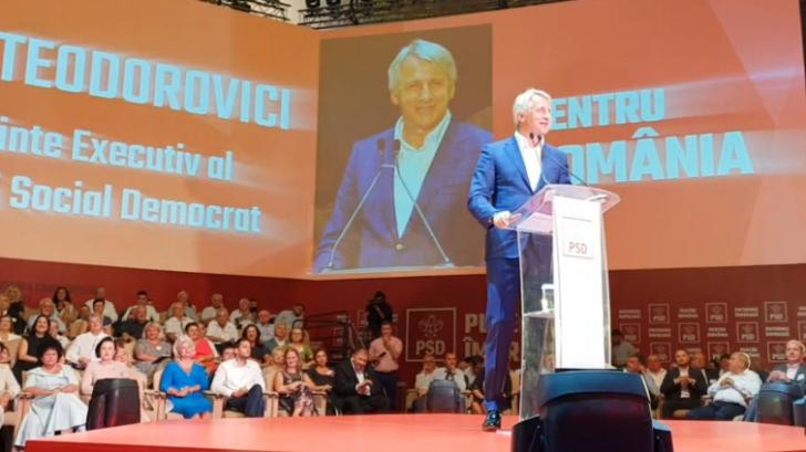 Orlando Teodorovici la Congresul PSD. Foto: Cristian Otopeanu