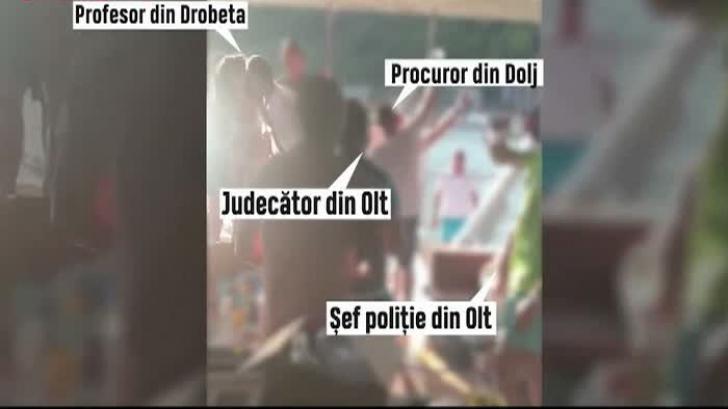 Cazul Caracal: Procurori, judecători și șefi de Poliție din Dolj și Olt petrec, în plin scandal