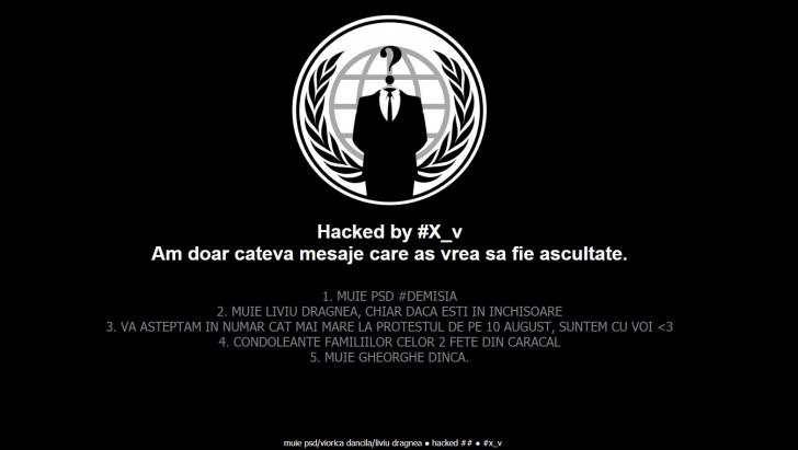 Site-ul IML, spart de hackeri de două ori, într-o singură zi. Mesaje transmise