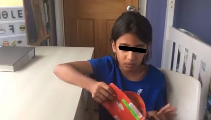 Sorina, în mijlocul familiei adoptive din America