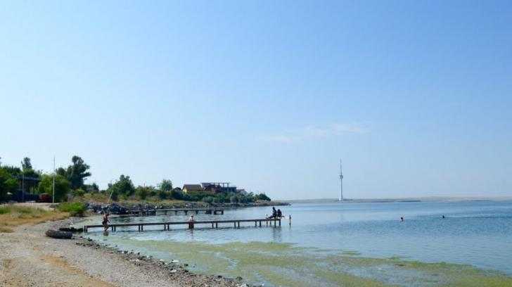 Bărbat înecat în Lacul Techirghiol, la Băile Reci