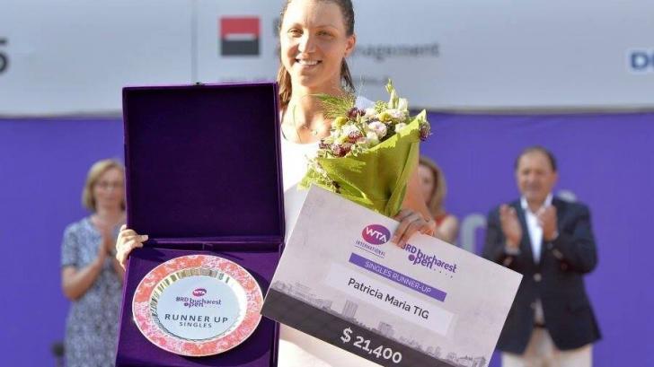 Patricia Ţig a câştigat turneul de la Karlsruhe