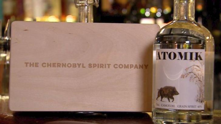 Vodka Atomik de la Cernobîl