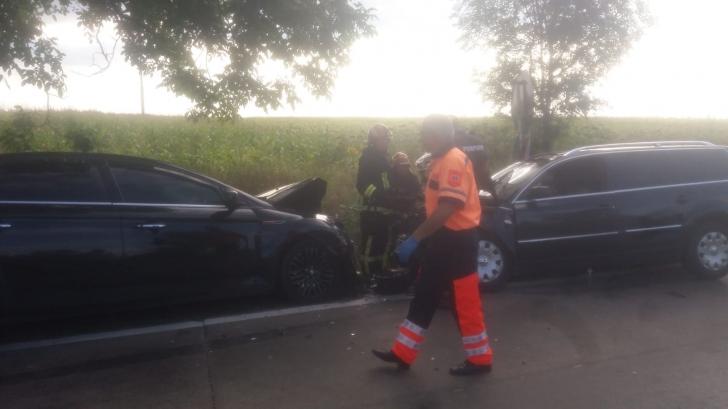 <p>Accident violent în Botosani</p>