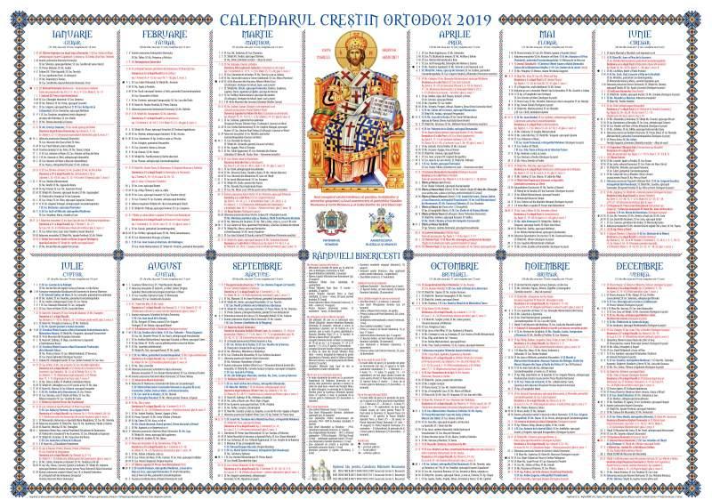 Calendar Ortodox 2020 - Calendar ortodox 13 octombrie 2020 ...