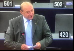 Traian Băsescu în PE