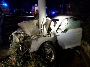 Accident îngrozitor în județul Sibiu