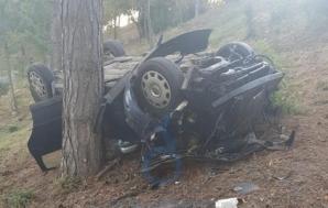 Accident înfiorător, la Craiova. A murit, după ce s-a dat cu mașina peste cap