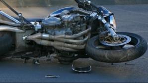Accident cumplit, la Comarnic. Bărbat ucis de o motocicletă