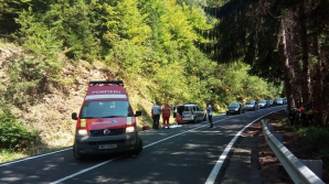 Transfagarasan - accident rutier