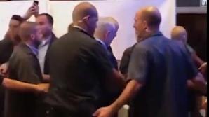 Benjamin Netanyahu, evacuat de urgență