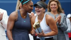 Bianca Andreescu, finala la US Open cu Serena Williams