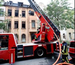 Cladire incendiată în Germania