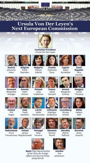 Noua echipă de comisari europeni