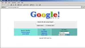 Google în 1998