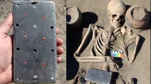 Obiect misterios într-un mormânt vechi de 2100 ani