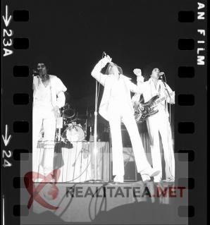 Michael Jackson in 1972. Imagine de pe negativul original. Colectie: Cristian Otopeanu