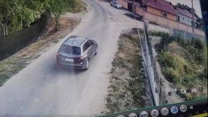 Olandezul, filmat cu fetița în mașină